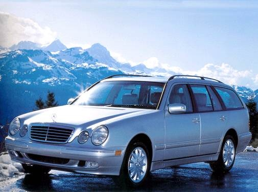 Highest Horsepower Wagons of 2002 - 2002 Mercedes-Benz E-Class