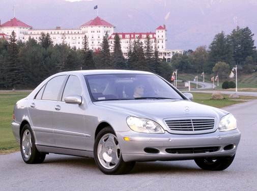 Highest Horsepower Sedans of 2002 - 2002 Mercedes-Benz S-Class