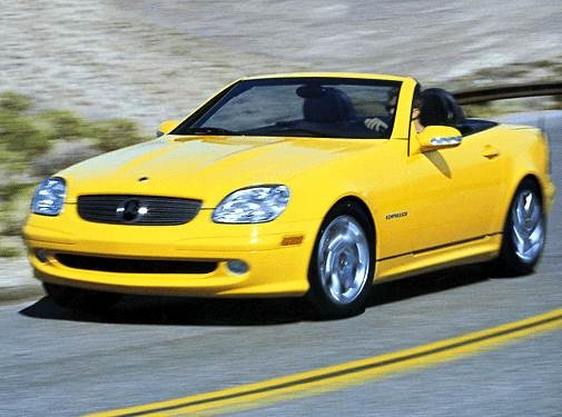 Most Fuel Efficient Convertibles of 2002 - 2002 Mercedes-Benz SLK-Class