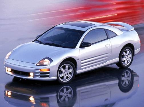 Top Consumer Rated Hatchbacks of 2002 - 2002 Mitsubishi Eclipse