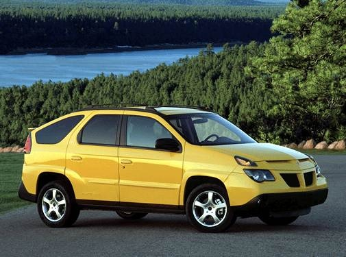 Most Fuel Efficient SUVS of 2002 - 2002 Pontiac Aztek