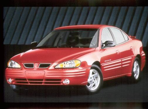 Most Popular Sedans of 2002 - 2002 Pontiac Grand Am