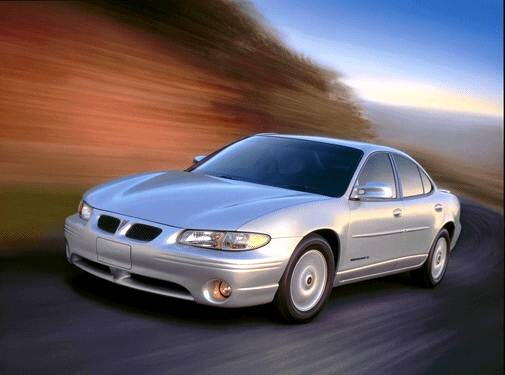 Most Popular Sedans of 2002 - 2002 Pontiac Grand Prix
