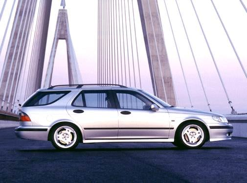Highest Horsepower Wagons of 2002 - 2002 Saab 9-5