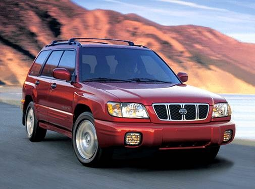 Most Fuel Efficient SUVS of 2002 - 2002 Subaru Forester