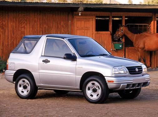 Most Fuel Efficient SUVS of 2002 - 2002 Suzuki Vitara