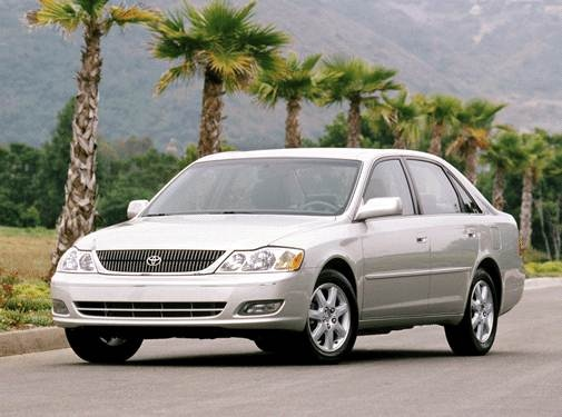 Top Consumer Rated Sedans of 2002 - 2002 Toyota Avalon