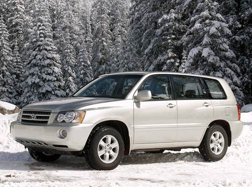 Most Popular Crossovers of 2002 - 2002 Toyota Highlander