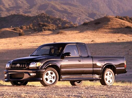 Top Consumer Rated Trucks of 2002 - 2002 Toyota Tacoma Xtracab