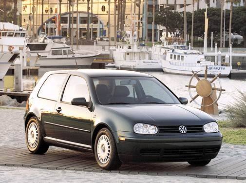 Most Fuel Efficient Coupes of 2002 - 2002 Volkswagen Golf