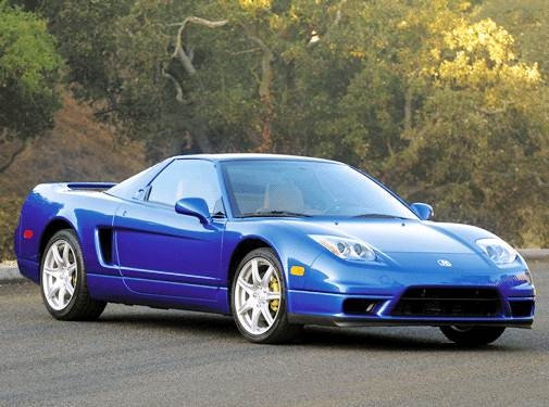 Top Consumer Rated Convertibles of 2003 - 2003 Acura NSX