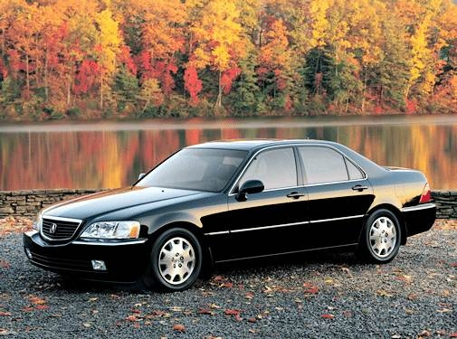 Top Consumer Rated Luxury Vehicles of 2003 - 2003 Acura RL