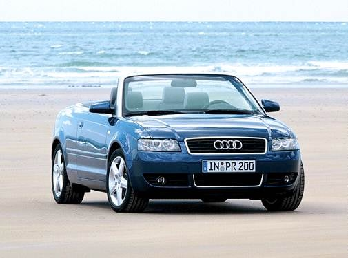 Most Popular Convertibles of 2003 - 2003 Audi A4