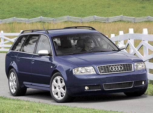 Top Consumer Rated Wagons of 2003 - 2003 Audi S6