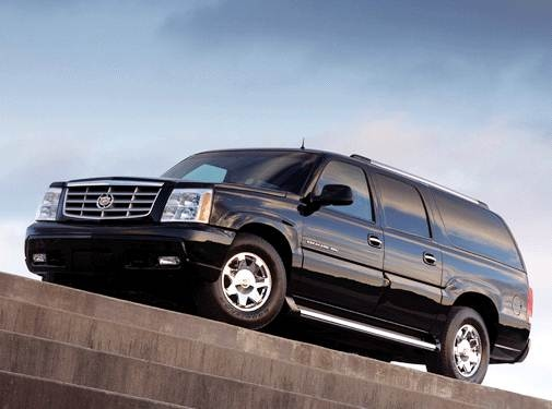 Top Consumer Rated SUVS of 2003 - 2003 Cadillac Escalade ESV