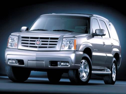 Top Consumer Rated SUVS of 2003 - 2003 Cadillac Escalade