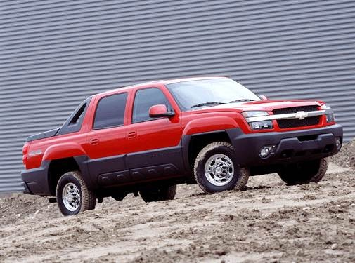 Top Consumer Rated SUVS of 2003 - 2003 Chevrolet Avalanche 2500
