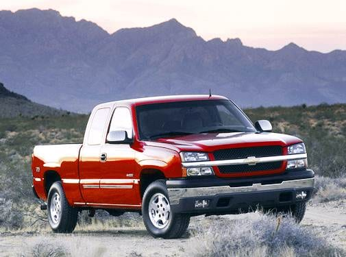 Most Popular Trucks of 2003 - 2003 Chevrolet Silverado 1500 Extended Cab