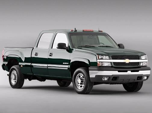 Most Popular Trucks of 2003 - 2003 Chevrolet Silverado 1500 HD Crew Cab