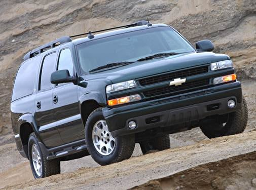 Top Consumer Rated SUVS of 2003 - 2003 Chevrolet Suburban 1500