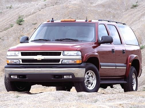Top Consumer Rated SUVS of 2003 - 2003 Chevrolet Suburban 2500