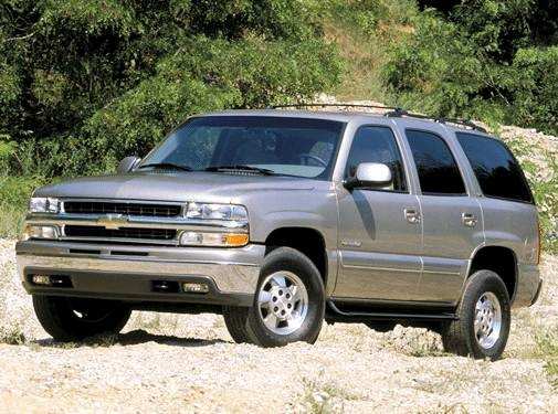 Most Popular SUVS of 2003 - 2003 Chevrolet Tahoe