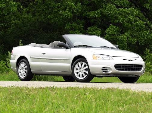 Most Fuel Efficient Convertibles of 2003 - 2003 Chrysler Sebring