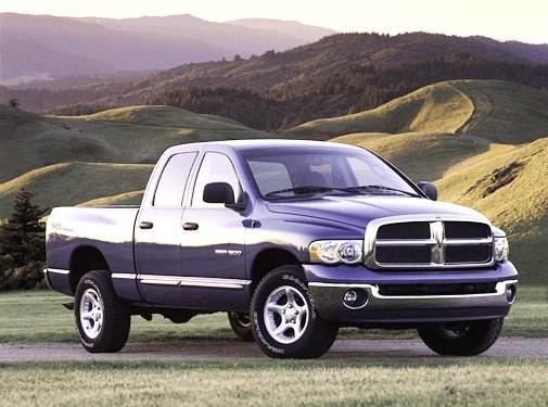 Most Popular Trucks of 2003 - 2003 Dodge Ram 1500 Quad Cab