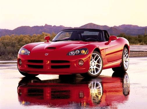 Highest Horsepower Convertibles of 2003 - 2003 Dodge Viper