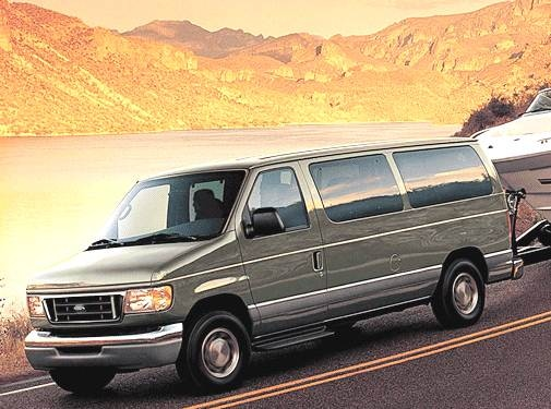 Top Consumer Rated Van/Minivans of 2003 - 2003 Ford E350 Super Duty Passenger