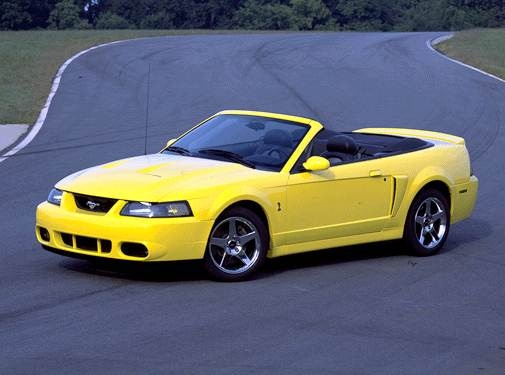 Highest Horsepower Convertibles of 2003 - 2003 Ford Mustang