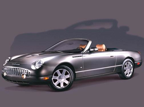 Top Consumer Rated Convertibles of 2003 - 2003 Ford Thunderbird
