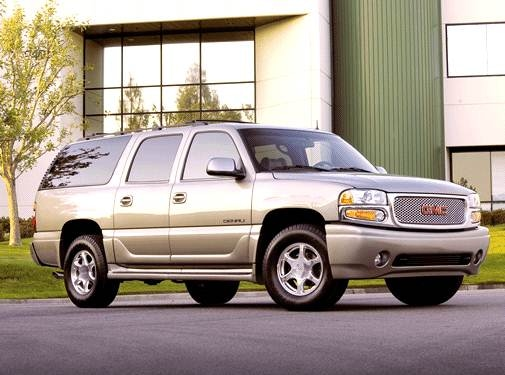 Top Consumer Rated SUVS of 2003 - 2003 GMC Yukon XL 1500