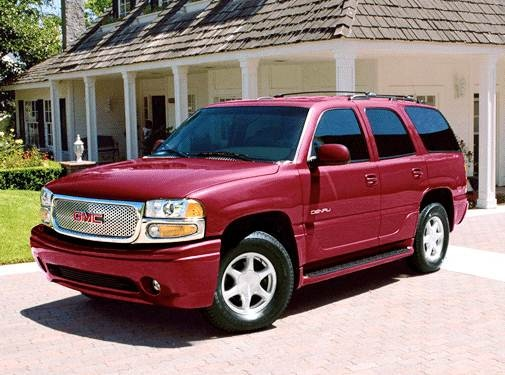 Top Consumer Rated SUVS of 2003 - 2003 GMC Yukon