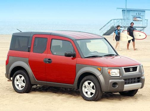 Top Consumer Rated SUVS of 2003 - 2003 Honda Element