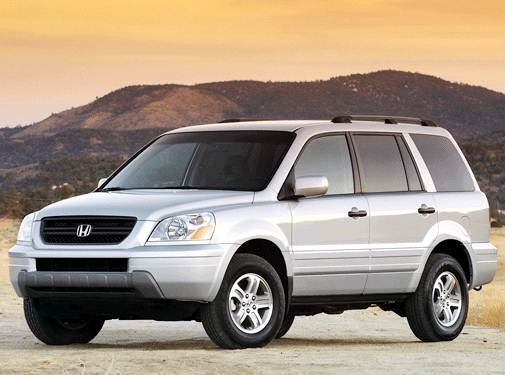 Most Popular Crossovers of 2003 - 2003 Honda Pilot