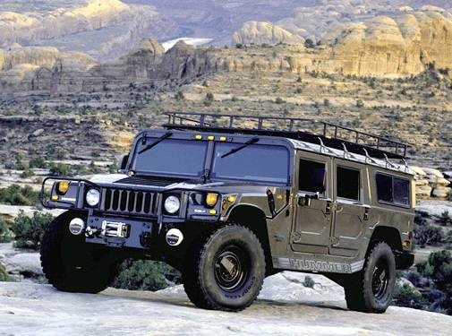 Top Consumer Rated Wagons of 2003 - 2003 HUMMER H1