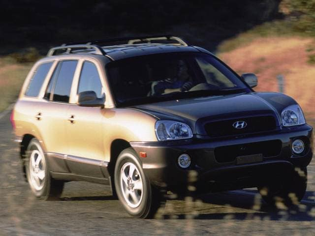 Most Popular Crossovers of 2003 - 2003 Hyundai Santa Fe