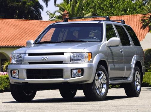 Top Consumer Rated SUVS of 2003 - 2003 INFINITI QX
