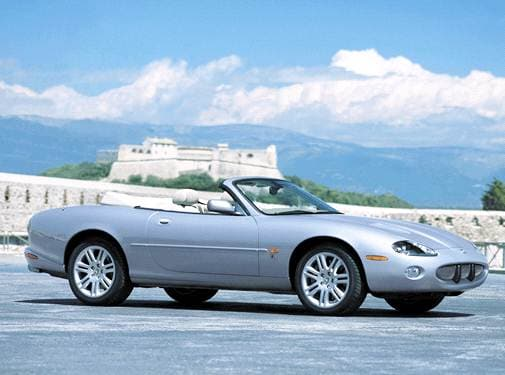 Highest Horsepower Convertibles of 2003 - 2003 Jaguar XK