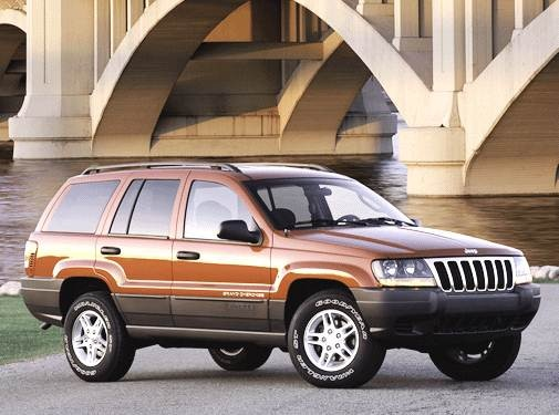 Most Popular SUVS of 2003 - 2003 Jeep Grand Cherokee