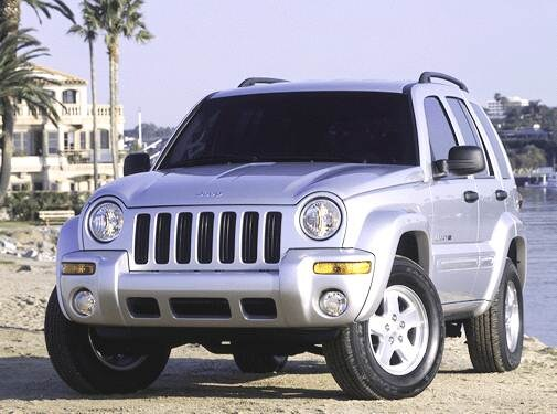 Most Popular SUVS of 2003 - 2003 Jeep Liberty