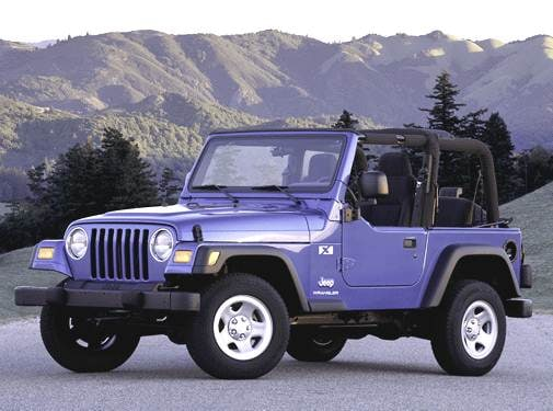 Most Popular SUVS of 2003 - 2003 Jeep Wrangler