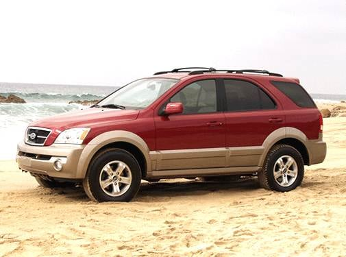 Most Popular Crossovers of 2003 - 2003 Kia Sorento