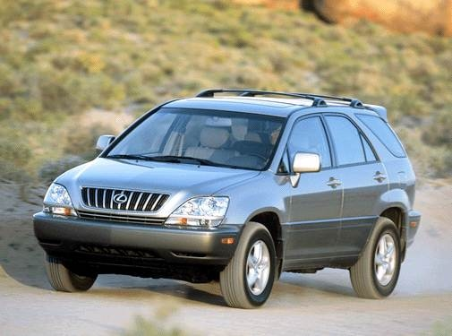 Top Consumer Rated SUVS of 2003 - 2003 Lexus RX
