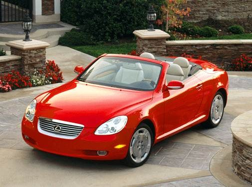 Top Consumer Rated Luxury Vehicles of 2003 - 2003 Lexus SC