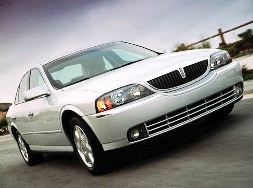 Most Popular Luxury Vehicles of 2003 - 2003 Lincoln LS