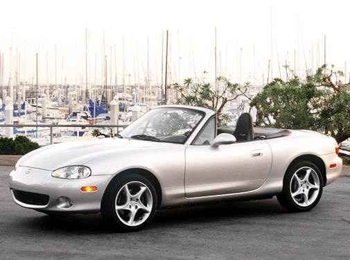 Top Consumer Rated Convertibles of 2003 - 2003 Mazda MX-5 Miata