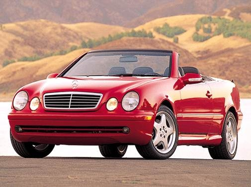 Most Fuel Efficient Convertibles of 2003 - 2003 Mercedes-Benz CLK-Class