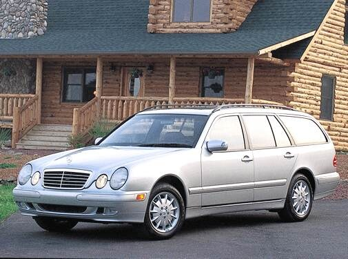 Top Consumer Rated Wagons of 2003 - 2003 Mercedes-Benz E-Class